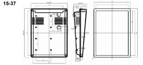 Пластиковый корпус CX15-37 (65X180X240)